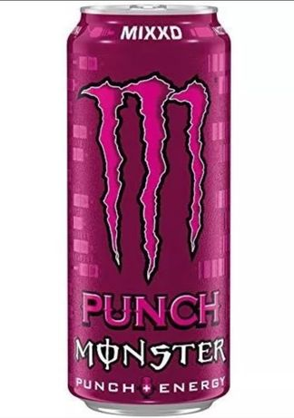 Lata punch rosa monster energy drink