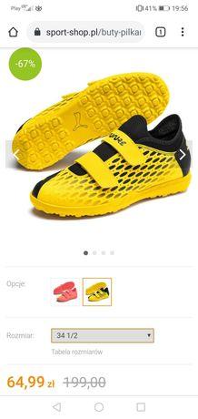 Buty piłkarskie dla chłopca 34 i pół