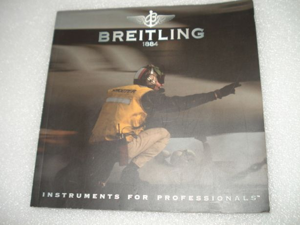 Livro Breitling 1884. Instruments for Professionals.