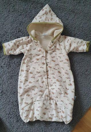 Śpiworek niemowlęcy rozmiar 56