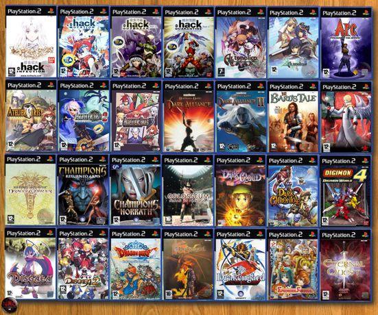 [PS2] 150 Jogos RPG/ Estratégia (Vendo à unidade - Ver Preços↓)