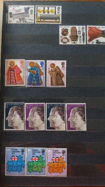 znaczki pocztowe ANGLIA