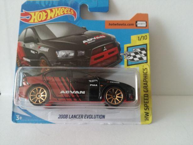 Mitsubishi lancer evolution hot wheels