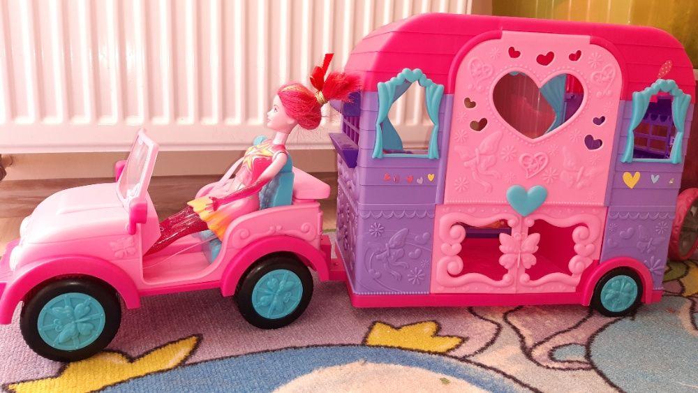 Duże auto terenowe z przyczepą campingową dla lalek Katowice - image 1