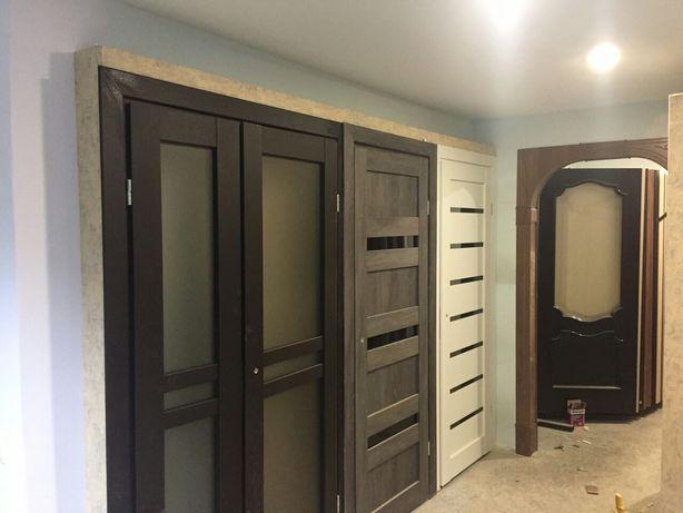Продам двери межкомнатные и входные, арки,дверная фурнитура, окна.