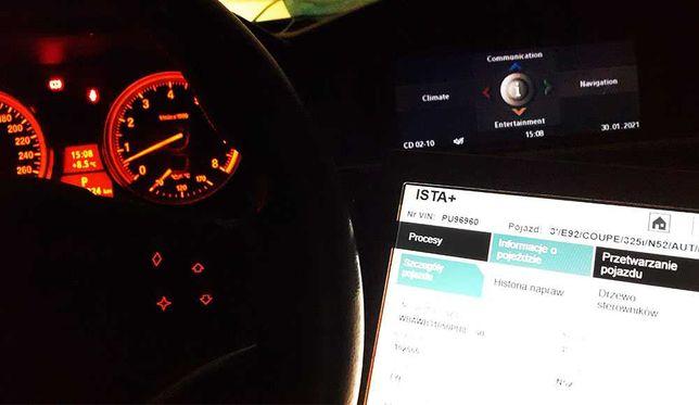 Laptop do diagnostyki aut BMW USB K+DCAN RS232
