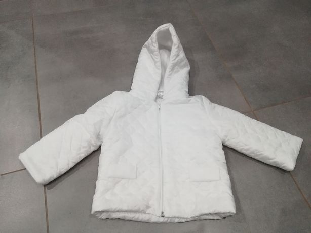 R. 74 kurtka pikowana do Chrztu na polarku