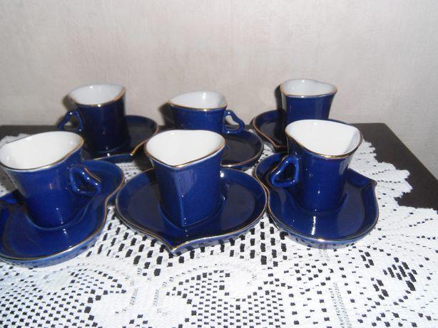 Набор кофейный кобальт