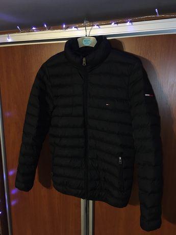 Зимняя куртка пуховик Tommy Hilfiger ( не The North Face 700)