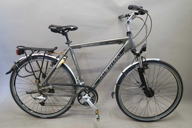 Markowy rower trekkingowy Merida Freesport Elite XT LX