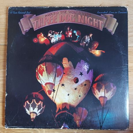 Three Dog Night, Around The World With, US, 2 lp, piękne wydanie, dst+