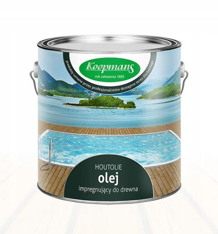Koopmans Houtolie Olej drewna,tarasu 5L Kolor ecowoodpolska