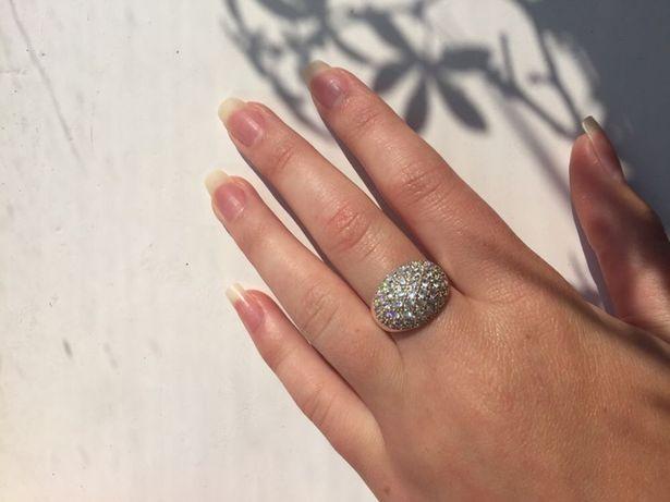 Срібне колечко/кольцо