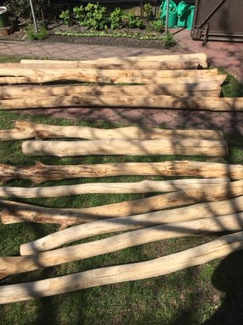 Słupki dębowe Kołki drewniane huśtawkę