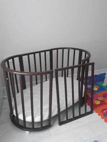 Кроватка-трансформер детская кроватка 9 в 1 круглая овальная