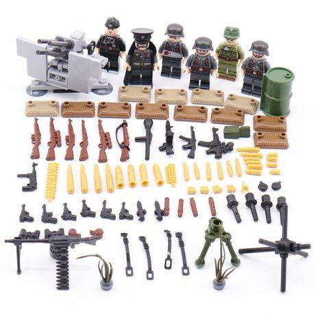 Фигурок немецких военных ВОВ , вермахт аналог лего Lego