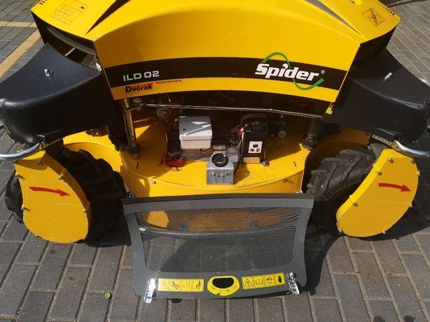 Spider ILD02 jak nowy, wyciągarka, kosiarka skarpowa, robot koszący