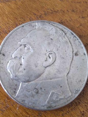 moneta 10 zł z 1934  Józef Piłsudski