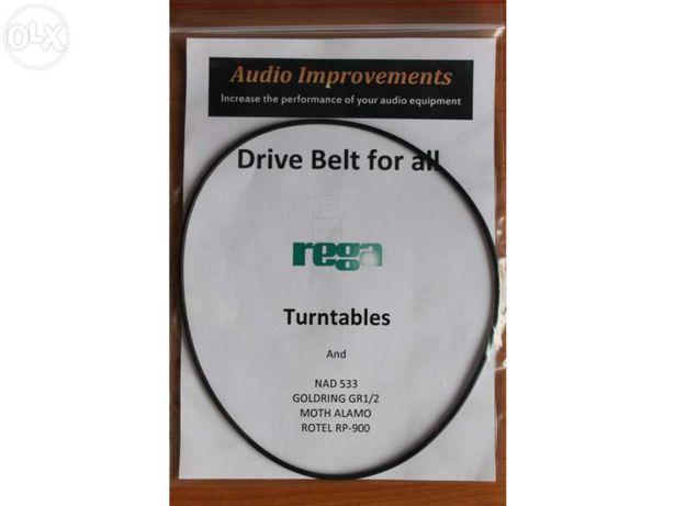 Correia drive belt p/ giradiscos marca REGA PLANAR (par) - nova