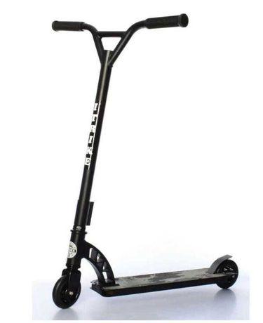 Трюковый самокат iTrike, усиленная рама, руль, алюминиевые колеса