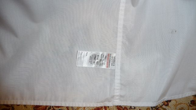 Белая рубашка на мальчика-подростка