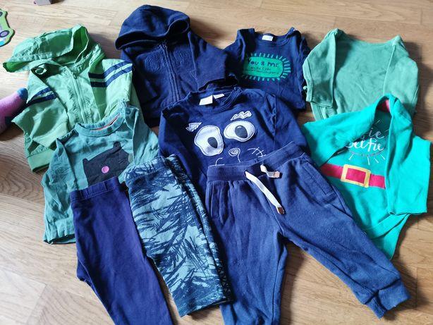 paka dla niemowlaka zestaw ubranek body leginsy pajace spodnie