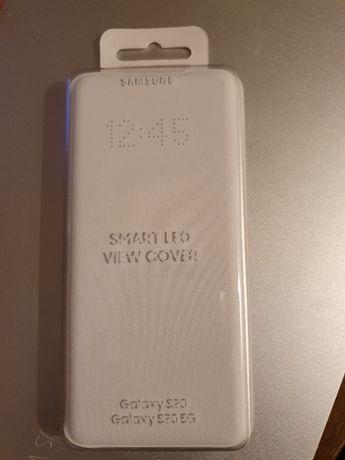 Etui SAMSUNG LED View Cover do Galaxy S20 Biały EF-NG980PWEGEU