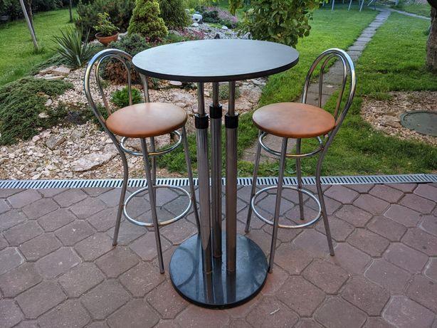 Krzesła barowe | stolik barowy | hoker | ZESTAW | komplet