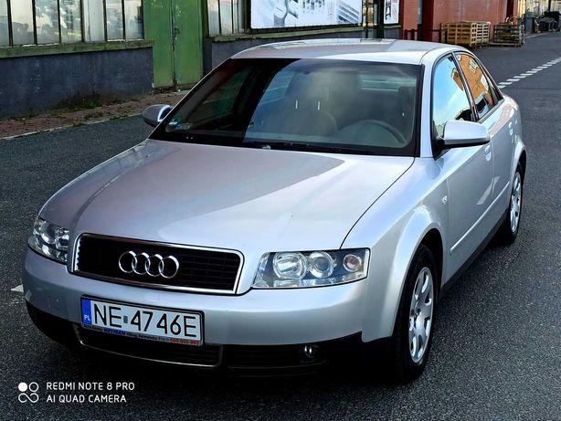 Audi A4 B6, 2.0 benzyna 130 KM, 2002r, 250 tys km, klima, stan bdb.