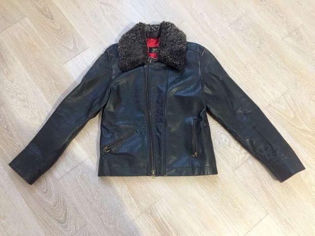 Женская кожаная куртка Lee, оригинал