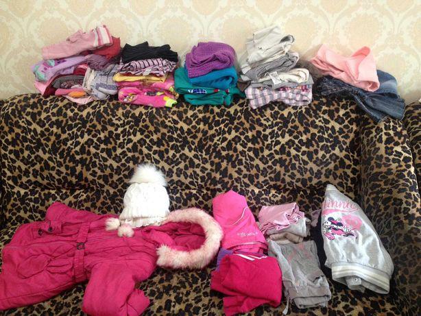 Одежда для девочки рост 110-116см. САМОВЫВОЗ.