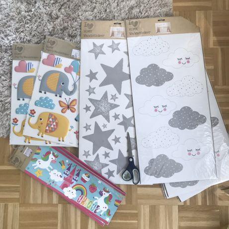 Интерьерные наклейки дизайнерский декор для детской кроватки