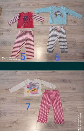 Piżamki, piżamy, piżama dla dziewczynki 92, 98-104, 104-110
