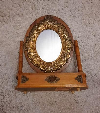Настольное зеркало СССР, шикарное винтаж.