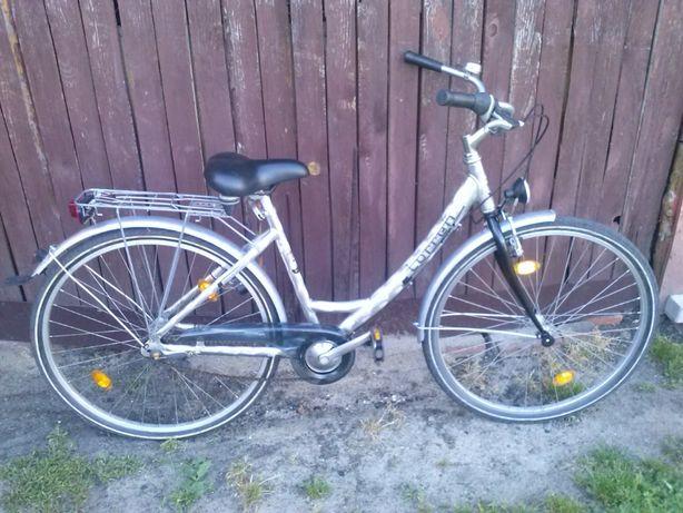 Rower Damka Miejski kola 28 Aluminiowa Rama