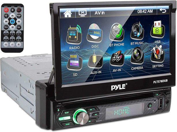 Radio 1 DIN Pyle PLTS78DUB 7 cali 320W