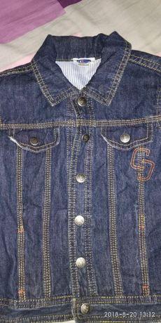 костюм джинсовый Чико 3-4 года