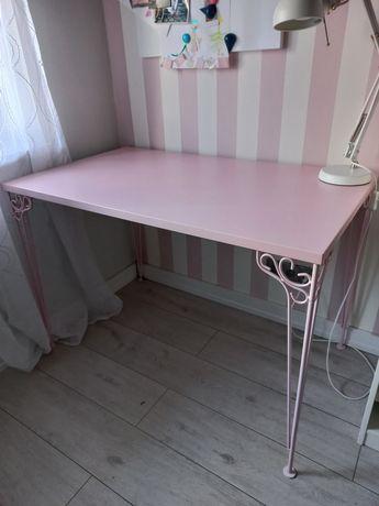 Biurko ikea różowe dla dziewczynki