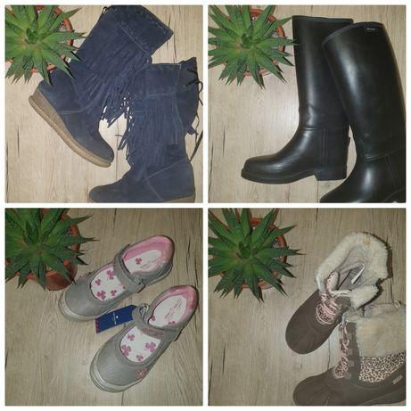 Сапоги демисезонные пакет обуви для девочки