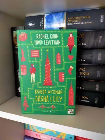 Księga wyzwań Dasha i Lily Rachel Cohn David Levithan