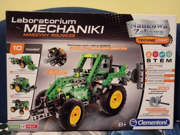 Laboratorium Mechniki Maszyny Rolnicze klocki jak Lego Technic komplet