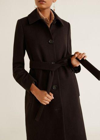 Пальто шерсть осень Mango S