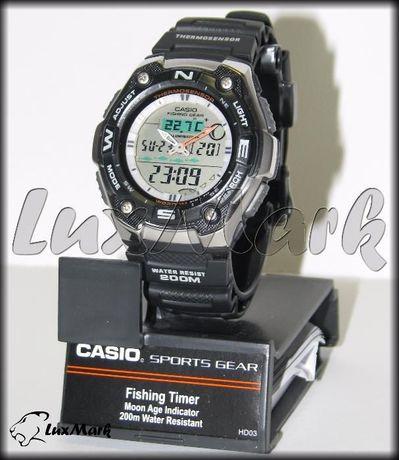 Часы Casio AQW-101-1AV ▷ рыбалка