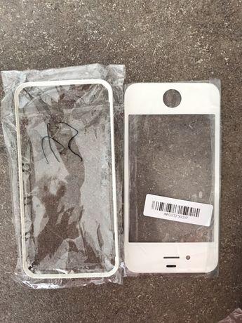 Рамка передняя Iphone 4/4G white