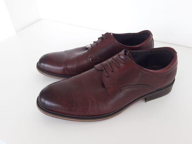 Buty męskie skórzane Wittchen w rozmiarze 44