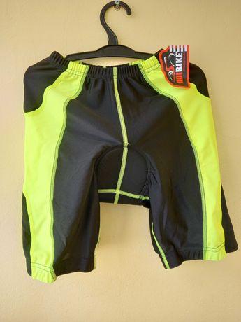 Велошорты adibike на 9-10 лет с подкладкой