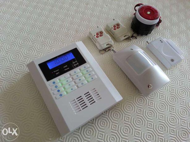 Alarme GSM telemovel casa habitação loja escritorio armazem 433mhz Pir