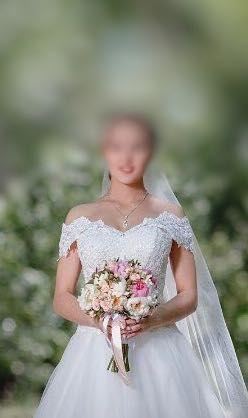 Свадебное платье + чехол в ПОДАРОК