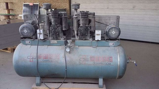 Compressor 500lt Cabeças da Rubete