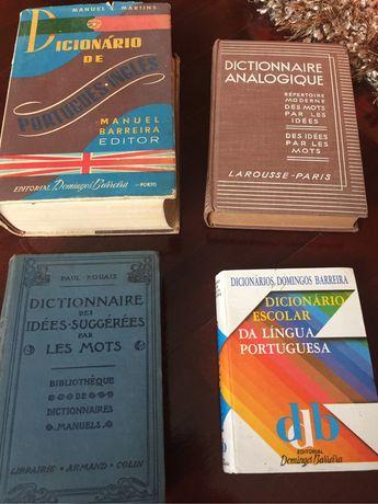 Dicionários raros a partir de €3,50